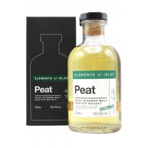 Elements Of Islay Peat Full Proof 50cl