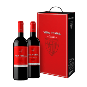 Estuche 2 Viña Pomal Crianza Athletic Club