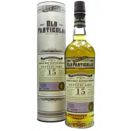 Fettercairn Old Particular Single Cask 15 Year old 2004