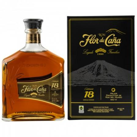 Flor de Caña 18 Year old In Case