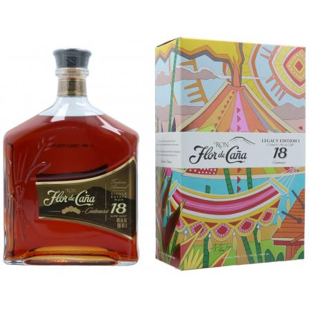 Flor de Caña 18 Year old In Case 1L