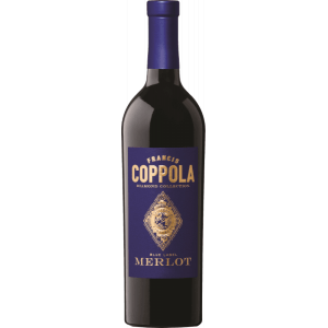 Francis Ford Coppola Diamond Collection Blue Label Merlot 2016
