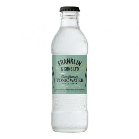 Franklin & Sons Elderflower & Cucumber Tonic 200ml