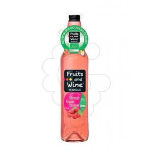 Fruits And Wine Rosé Framboise Bio 75cl
