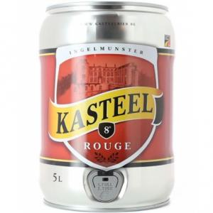 Fût Kasteel Rouge Fontaine Spi 5L