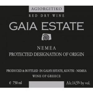 Gaia Wines Gaia Estate Agiorgitiko 2013