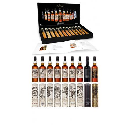 Game Of Thrones All 9 Bottles & Complete Tasting Set Collection Gift Set