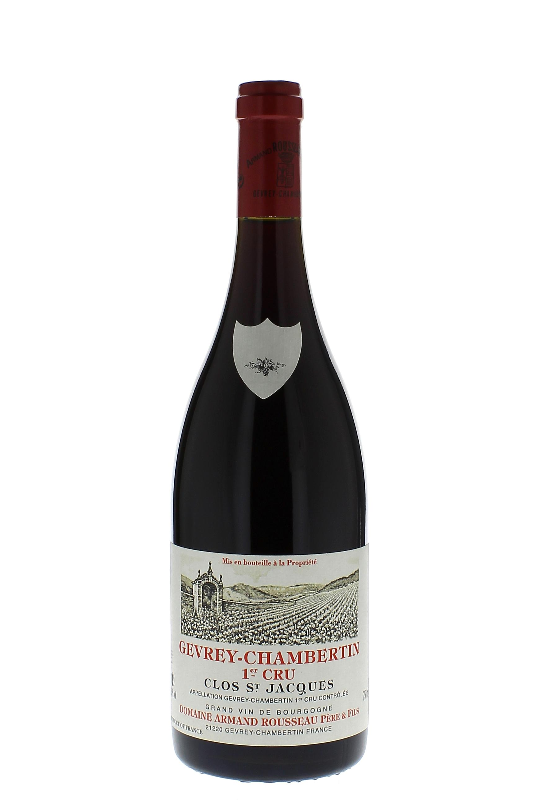 gevrey chambertin clos saint jacques 1er cru 2007 vin rouge. Black Bedroom Furniture Sets. Home Design Ideas