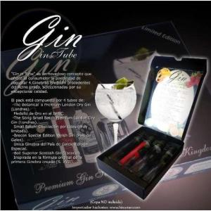 Gin In Tube Pack 4 X 50ml