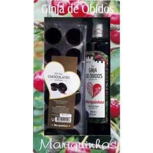 Ginja Mariquinhas Pack C/chocolate 50cl