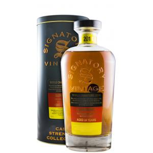 Glen Grant Signatory Vintage 24 År Bottled In 2014 1990