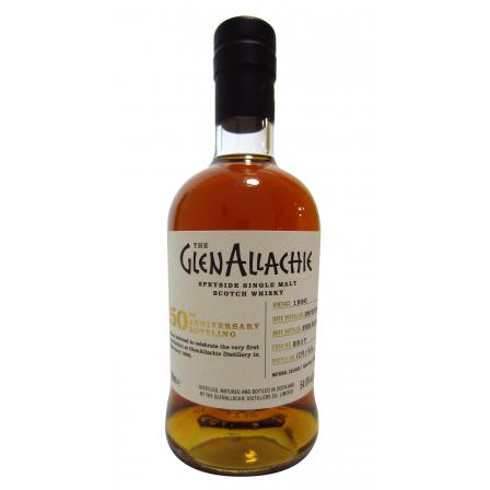 Glenallachie 50th Anniversary Single Cask 27 Ans 50cl 1990