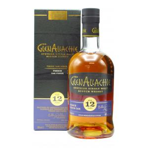 Glenallachie Virgin Oak Series French Oak Wood Finish 12 Year old