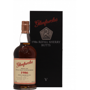 Glenfarclas Refill Sherry Butts 1986