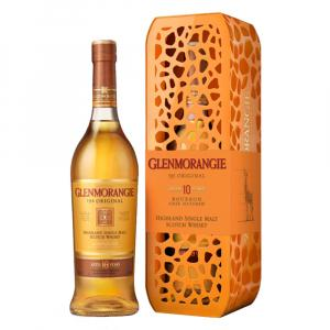 Glenmorangie 10 Years Whisky 70cl Giraffe Gift Tin