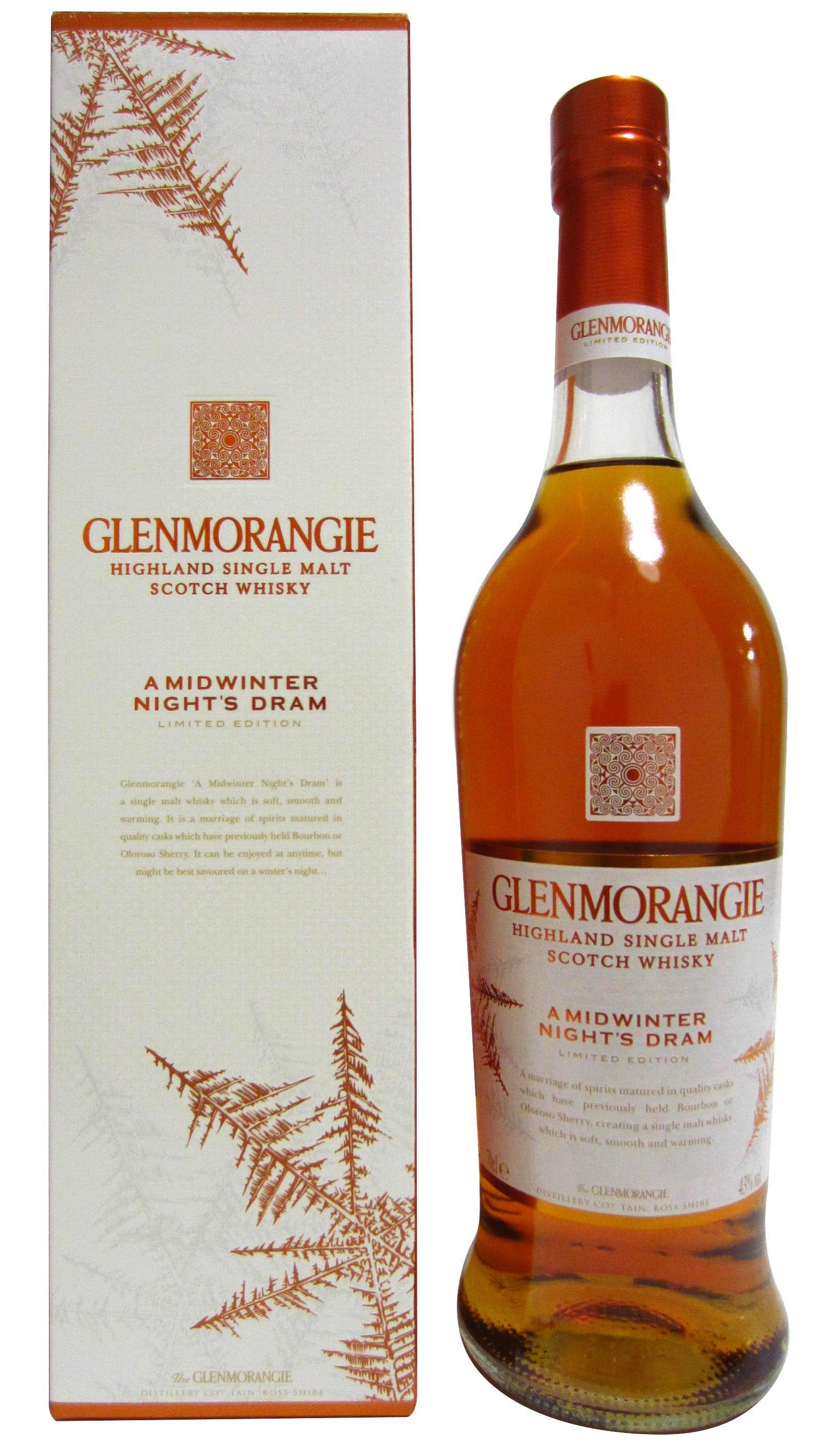 Buy Glenmorangie A Midwinter Night 39 S Dram Limited Edition
