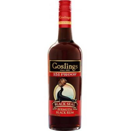 Gosling Black Seal 151 Proof Rum