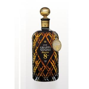 Grappa Nonino Riserva 8 Years In Barriques In Wooden Case