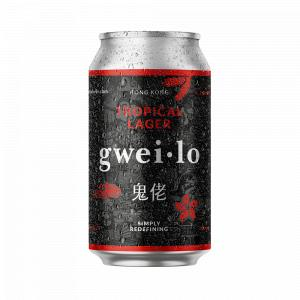 Gweilo Tropical Lager Can
