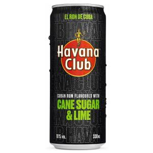 Havana Club Sugar & Lime 330ml