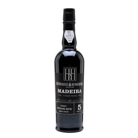 Henriques & Henriques Bual Aged 15 Years Finest Medium Rich Madeira