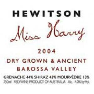 Hewitson Miss Harry G.S.M. 2004