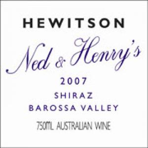 Hewitson Ned and Henrys Shiraz 2007