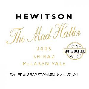 Hewitson The Mad Hatter Shiraz McLaren Vale 2005