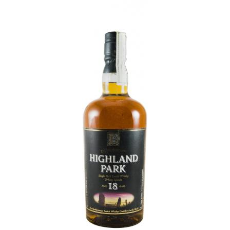 Highland Park 18 Years Label
