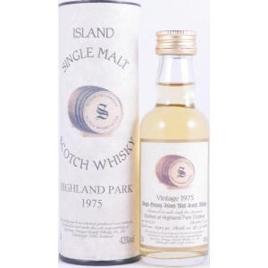 1975 Highland Park 20 Years Oak Cask 4294-95 Miniature Orkney Single Malt Signatory Vintage 50ml
