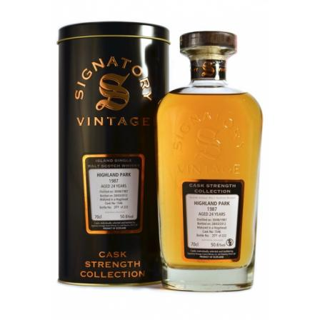"Highland Park 24 Years 1987 - Signatory ""cs-Collection"""