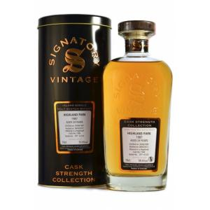 Highland Park 24 Years 1987 - Signatory