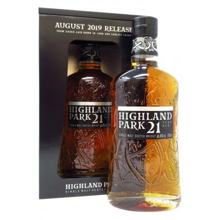 Highland Park August Release 21 Ans 2019
