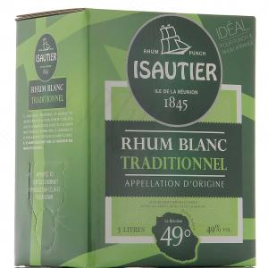 Isautier Blanc Traditionnel Bag In Box 3L