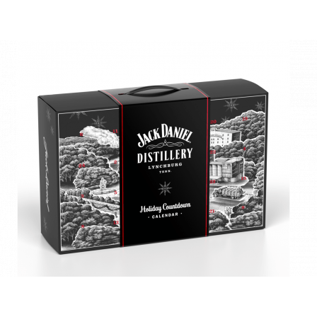 Jack Daniel's Holiday Countdown Advent Calendar Hard To Find Edition 50ml 2019