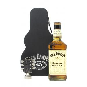 Jack Daniel's Honey Guitar Estuche Hard To Find Edition