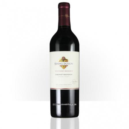 Jackson Family Wines Cabernet Sauvignon Kendall-Jackson Vintner's Reserve Sonoma County 2010