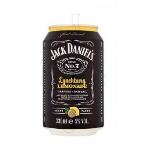 J.Daniels Lynchburg Lemon Llau 330ml