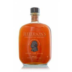 Jefferson's Straight Rye Whiskey 10 Years