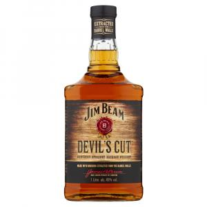 Jim Beam Devil Cut 1L