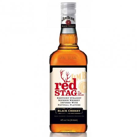 Jim Beam Red Stag Case 1L