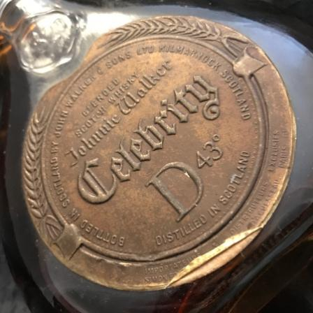 Johnnie Walker Celebrity 1820 Bouteille-