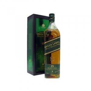 Johnnie Walker Green 15 Anys 1L