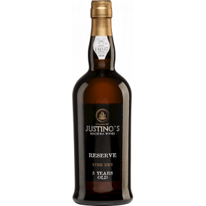 Justinos Reserva Fine Dry Madeira 5 Years Old