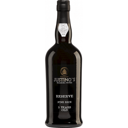 Justinos Reserva Fine Rich Madeira 5 Years Old