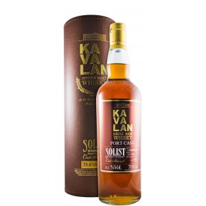 Kavalan Solist Port Cask Single Cask Strength 58,6%