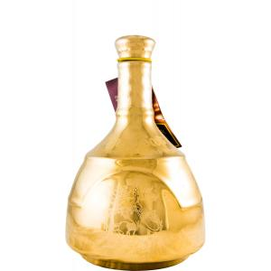 King Of Scots 25 Years Gold Decanter
