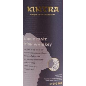 Kintra Irish Single Malt 14 Year 2001