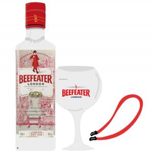 Kit Beefeater London Dry Gin + 1 COPO BALÃO + 1 FITA PARA ÓCULOS SOL