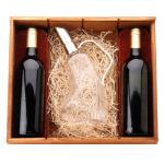 Kit Wood Box Merlot for2 Bottle